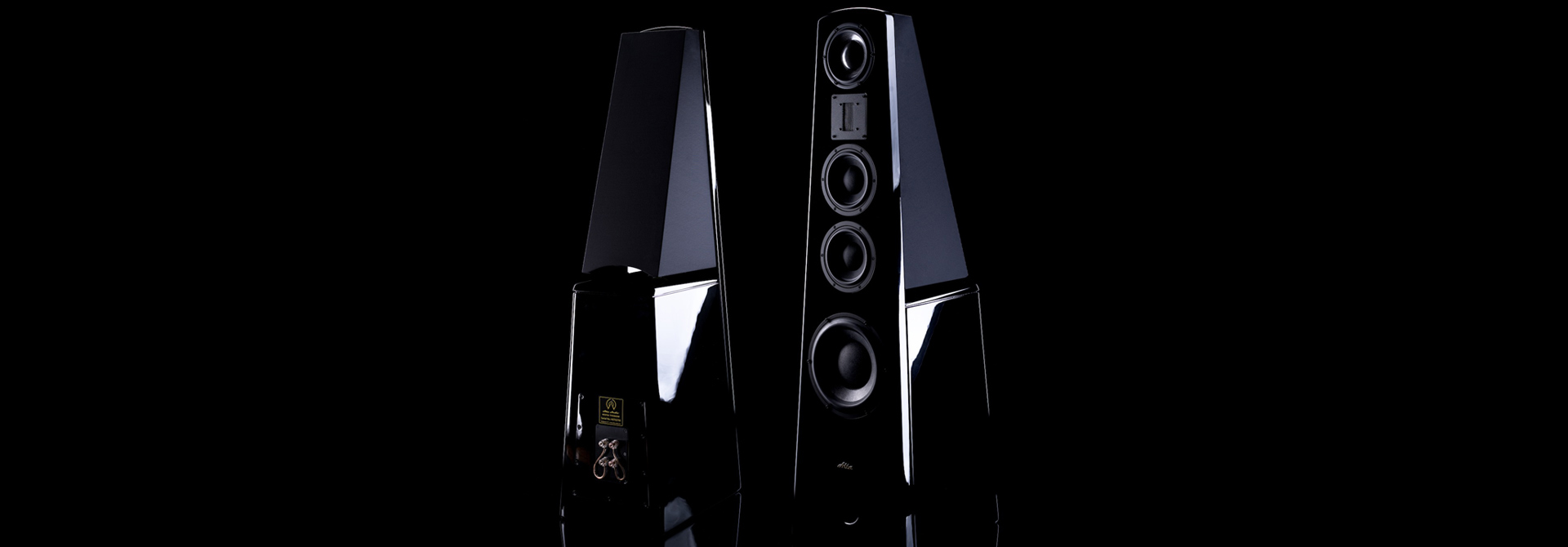 Alta Audio Titanium-Hestia speakers
